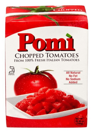Box of Pomi Chopped Tomatoes