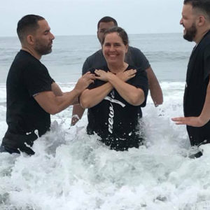 baptism of Christina Hills